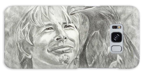 John Denver And Friend Galaxy Case by Carol Wisniewski