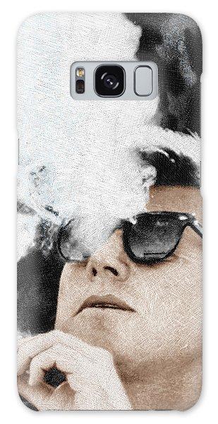 John F Kennedy Cigar And Sunglasses Galaxy Case