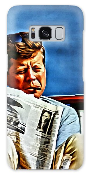 John F Kennedy Galaxy Case