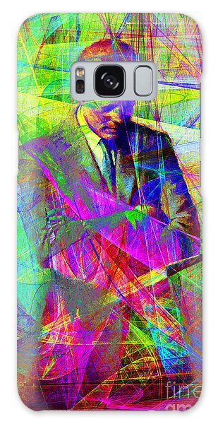 John Fitzgerald Kennedy Jfk In Abstract 20130610 Galaxy Case