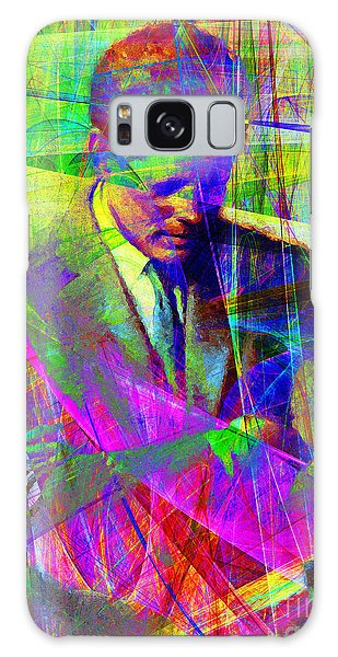 John Fitzgerald Kennedy Jfk In Abstract 20130610v2 Galaxy Case