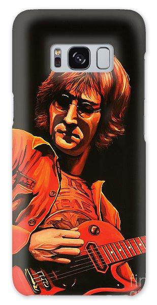 Cd Galaxy Case - John Lennon Painting by Paul Meijering