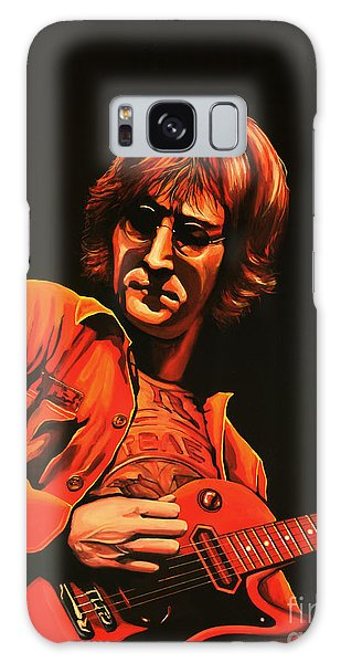 Soul Galaxy Case - John Lennon Painting by Paul Meijering