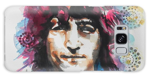 John Lennon..up Close Galaxy Case