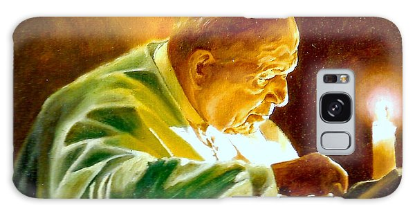 John Paul II Galaxy Case by Henryk Gorecki
