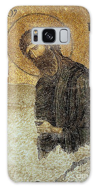 John The Baptist-detail Of Deesis Mosaic  Hagia Sophia-judgement Day Galaxy Case