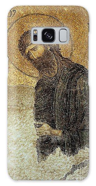 John The Baptist-detail Of Deesis Mosaic  Hagia Sophia-judgement Day Galaxy Case