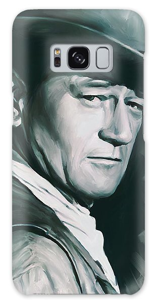 John Wayne Artwork Galaxy Case