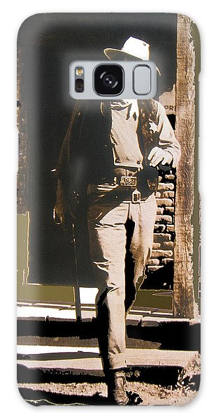 John Wayne Exciting The Sheriff's Office Rio Bravo Set Old Tucson Arizona 1959-2013 Galaxy Case