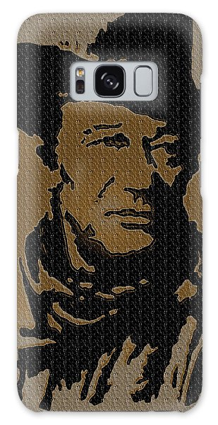 John Wayne Lives Galaxy Case by Robert Margetts