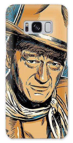 John Wayne Pop Art Galaxy Case by Jim Zahniser