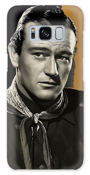 John Wayne  Publicity Photo In Costume Stagecoach 1939-2009 Galaxy Case