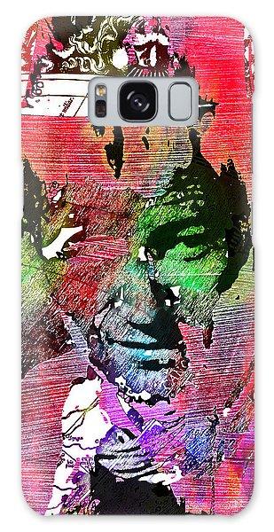 John Wayne Unmasked - Collage Galaxy Case