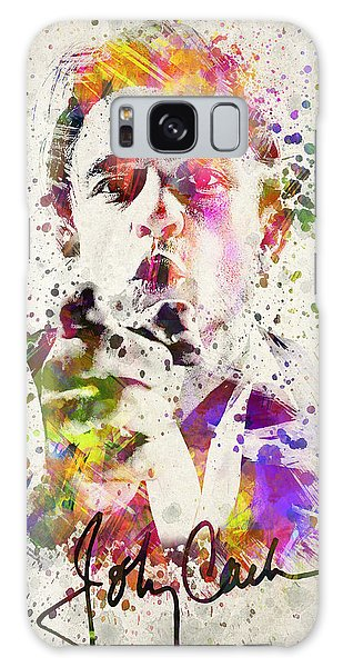 Johnny Cash  Galaxy Case by Aged Pixel