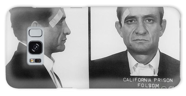 Johnny Cash Folsom Prison Large Canvas Art, Canvas Print, Large Art, Large Wall Decor, Home Decor Galaxy Case by David Millenheft
