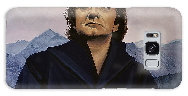 Johnny Cash Painting Galaxy Case