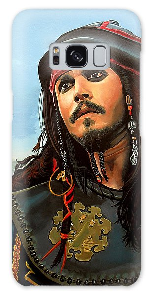 Johnny Depp As Jack Sparrow Galaxy S8 Case