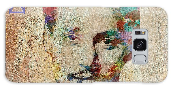 Johnny Depp Watercolor Splashes Galaxy Case