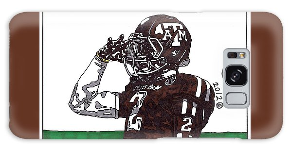 Johnny Manziel The Salute Galaxy Case by Jeremiah Colley