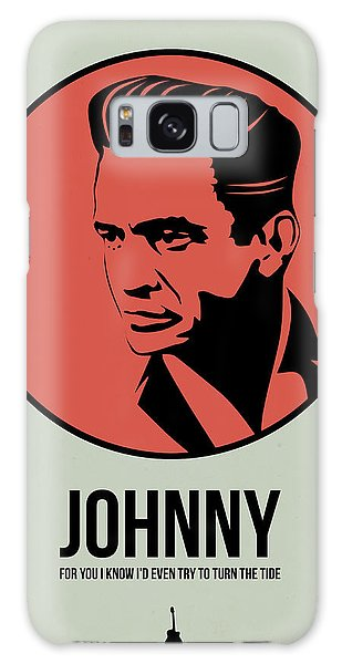Johnny Poster 2 Galaxy Case by Naxart Studio