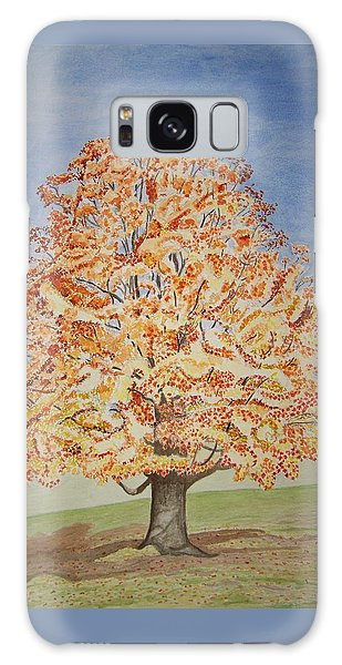 Jolanda's Maple Tree Galaxy Case