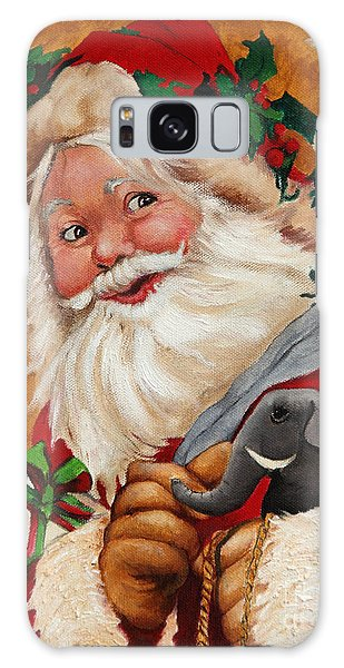 Jolly Santa Galaxy Case