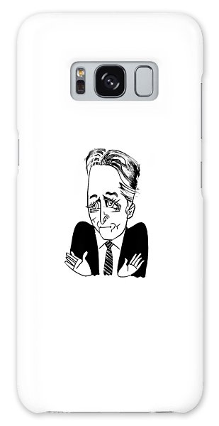 Jon Stewart Galaxy Case