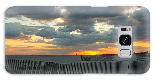 Jones Beach Sunset Three Galaxy Case