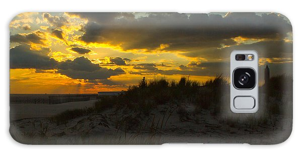 Jones Beach Sunset Two Galaxy Case by Jose Oquendo