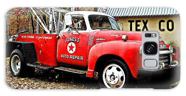 Jone's Tex Co Auto Repair Galaxy Case