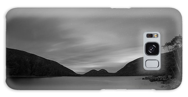 Jordan Pond Blue Hour Bw Galaxy Case