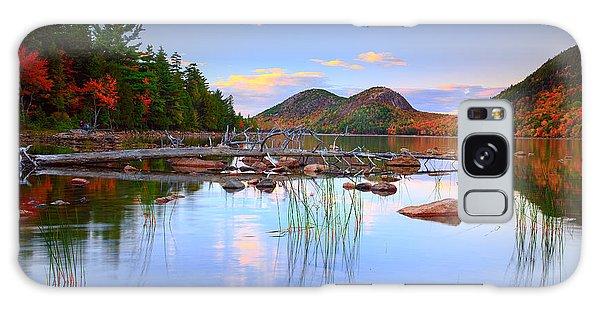 Otter Rock Galaxy Case - Jordan Pond In Fall by Emmanuel Panagiotakis