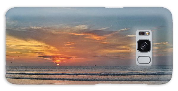 Jordan's First Sunrise Galaxy Case by LeeAnn Kendall