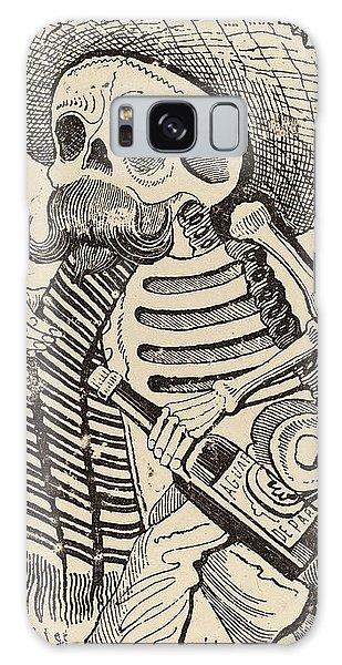 Calavera Galaxy Case - José Guadalupe Posada, Calavera Maderista by Quint Lox