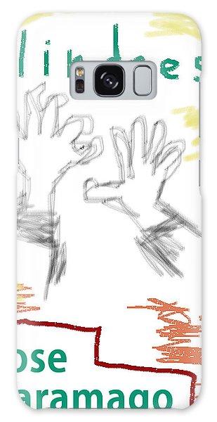 Jose Saramago Blindness Poster Galaxy Case