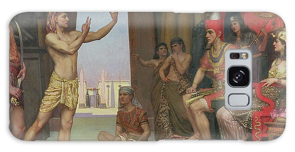 Egypt Galaxy Case - Joseph Interpreting Pharaohs Dream, 1894 by Reginald Arthur