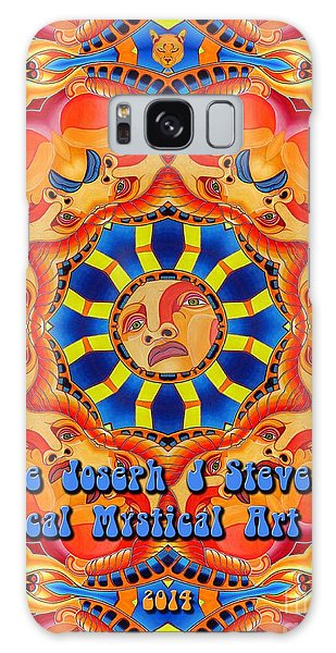Joseph J Stevens Magical Mystical Art Tour 2014 Galaxy Case