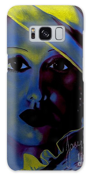 Josephine Baker Galaxy Case by Chelle Brantley