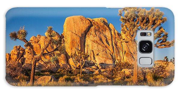 Desert Galaxy S8 Case - Joshua Tree Sunset Glow by Peter Tellone