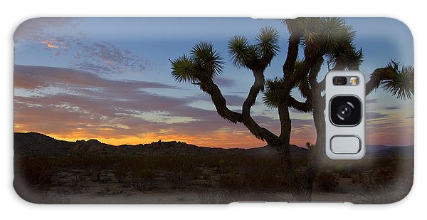Joshua Tree Sunset Galaxy Case