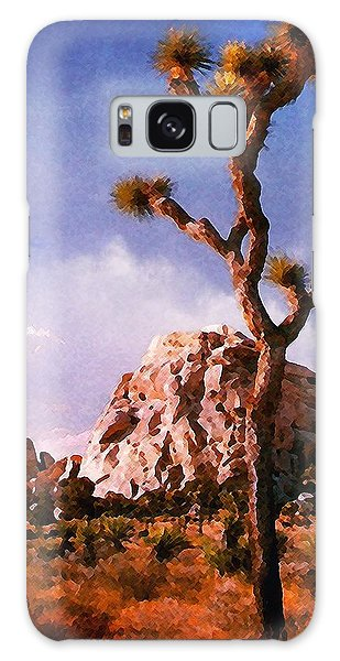 Joshua Trees 3 Galaxy Case by Timothy Bulone