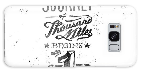 Motivational Galaxy Case - Journey Of Thousand Miles by Ridza MH