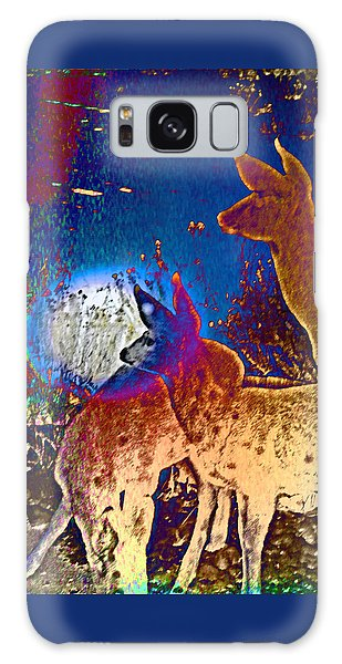 Joy In The Holidays Galaxy Case by Lenore Senior and Dawn Senior-Trask