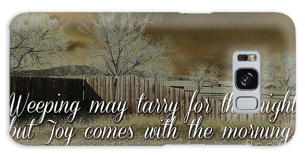 Joy In The Morning Galaxy Case