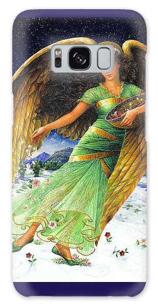 Angel Galaxy Case - Joy To The World by Lynn Bywaters