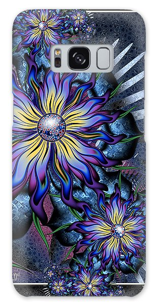 Joyful Julia Galaxy Case by Kim Redd