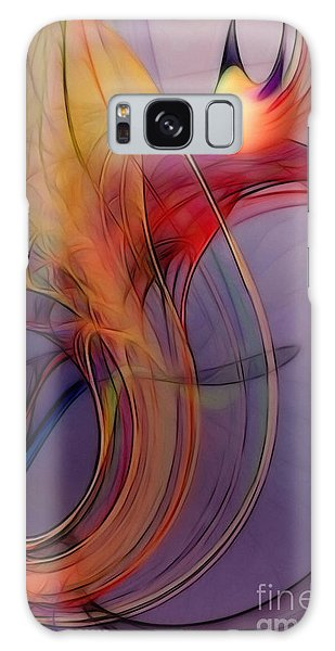 Joyful Leap-abstract Art Galaxy Case
