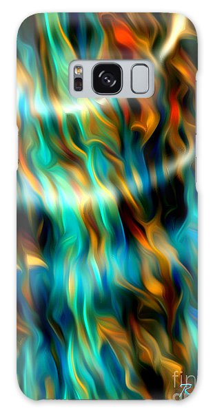 Joyful Waves - Abstract Art By Giada Rossi Galaxy Case