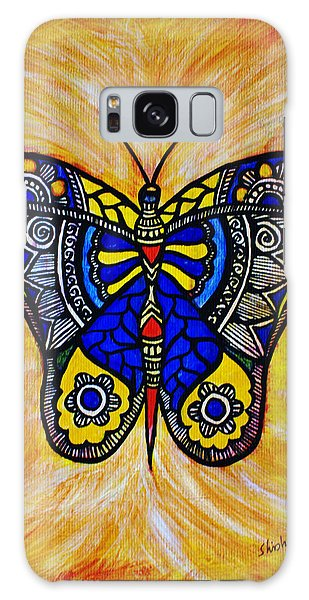 Madhubani Galaxy Case - Joyous Butterfly by Shishu Suman