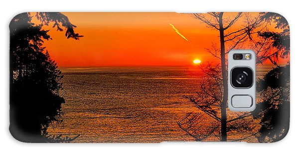 Juan De Fuca Sunset Galaxy Case